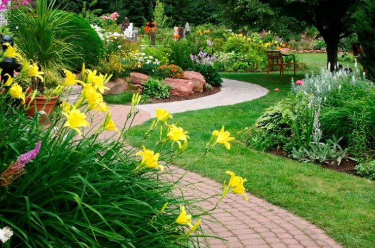 Дизайн садовых дорожек: 25 интересных решений