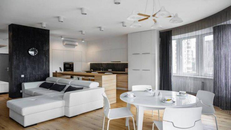 Дизайн и планировка квартиры-студии