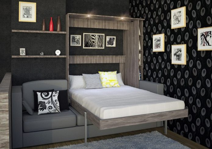 Раскладной шкаф-кровать