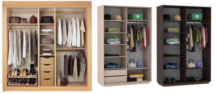 Идеи наполнения шкафа-купе