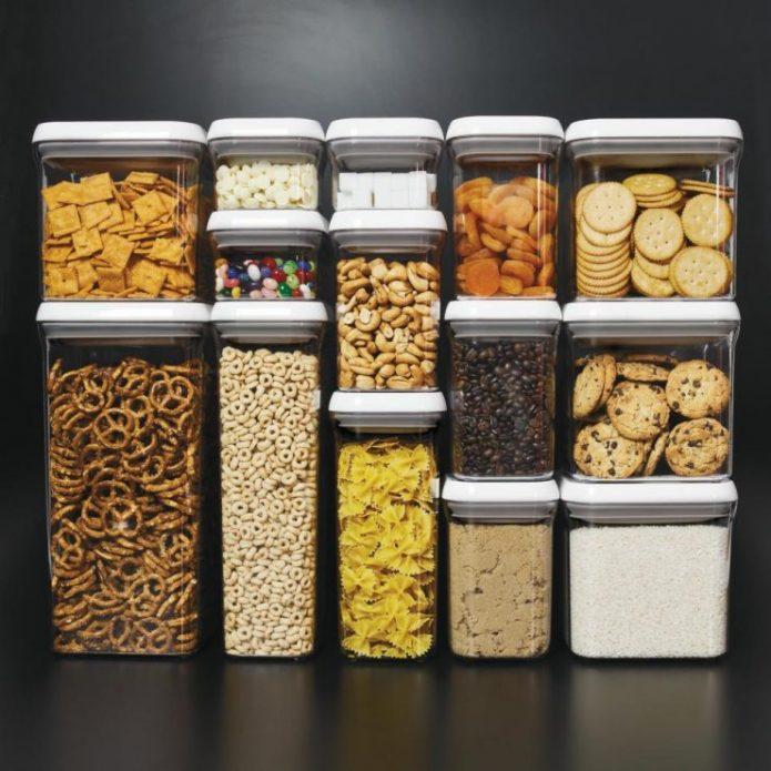 Банки-контейры для хранения