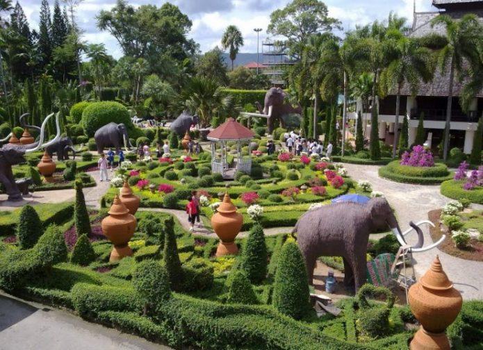 Сад Суан Нонг Нуч в Таиланде