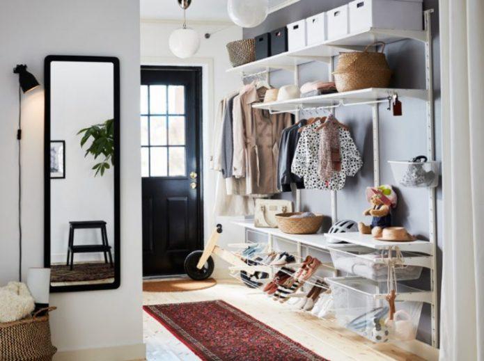 Интерьер с мебелью из ИКЕА