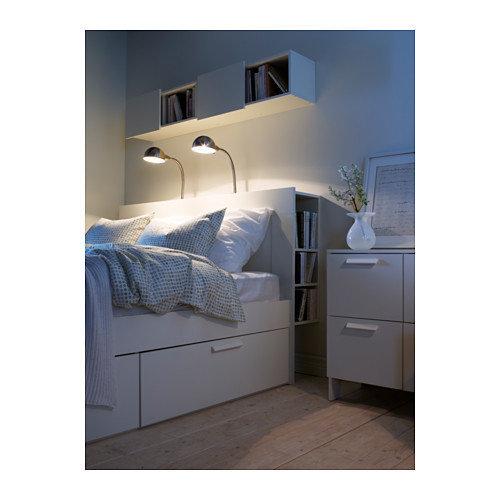 Кровать с полками из ИКЕА