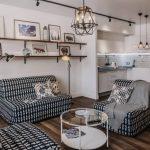 Скандинавский стиль в дизайне квартиры-студии