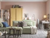 Гостиная с мебелью из ИКЕА