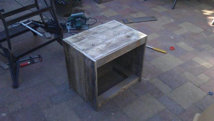 Монтаж столешницы тумбы