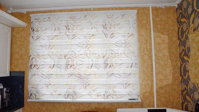 Бумажные римские шторы
