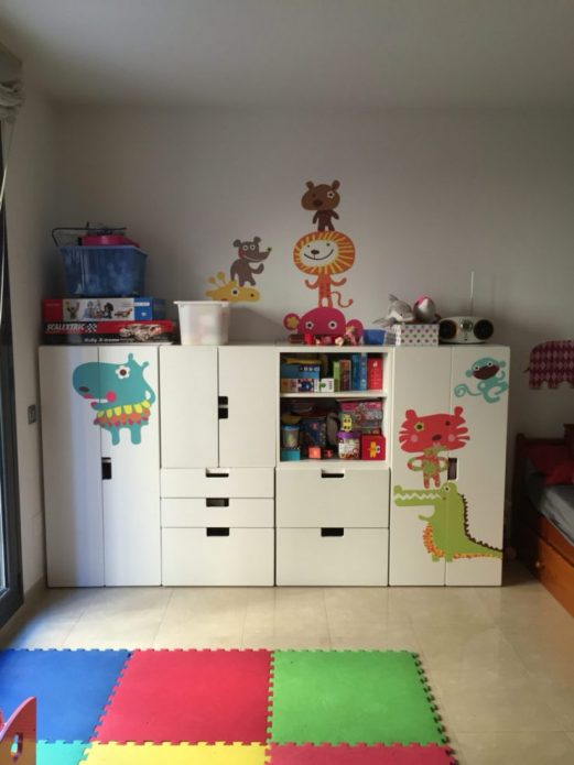 Шкаф для детской комнаты из ИКЕА