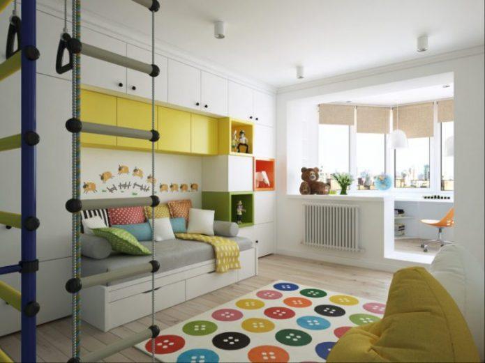 Мебель из ИКЕА для детской комнаты