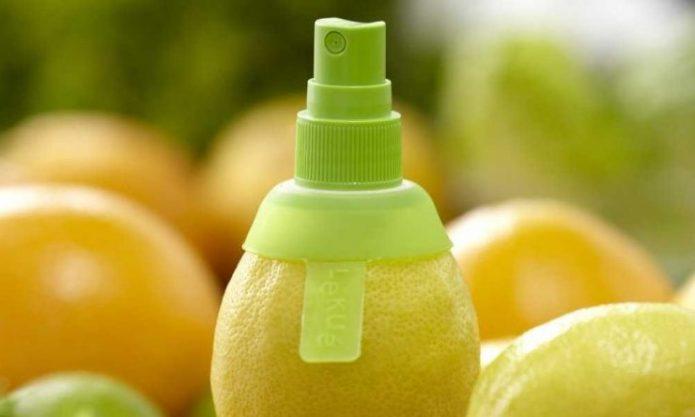 Пульверизатор для лимонного сока