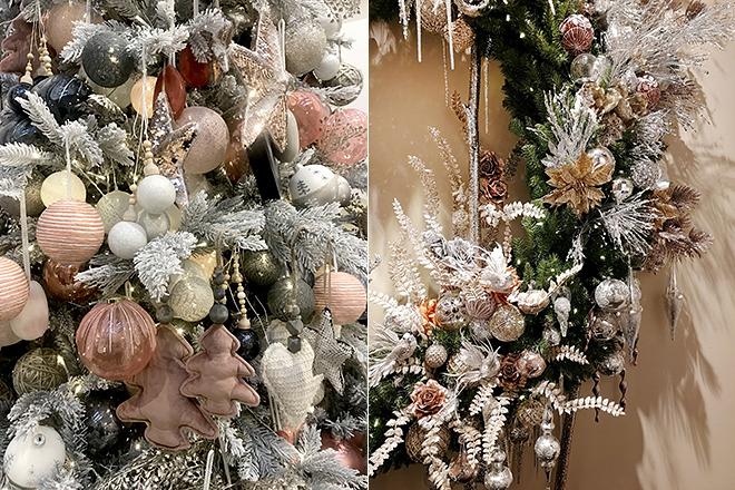 Декор из мягких игрушек для новогодней ёлки