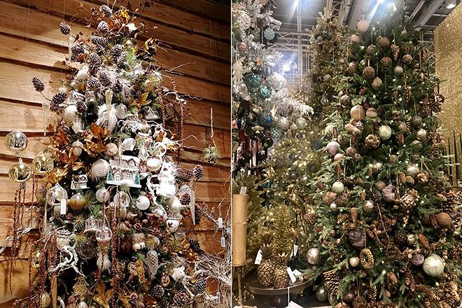 Новогодние ёлки в экологическом стиле