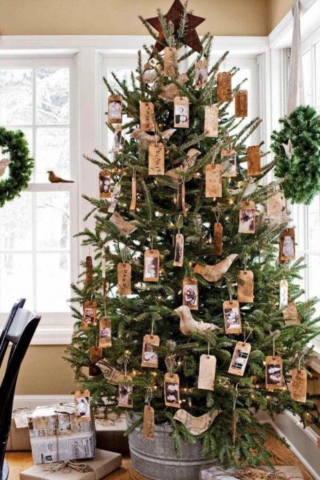 Новогодняя ёлка в экологическом стиле