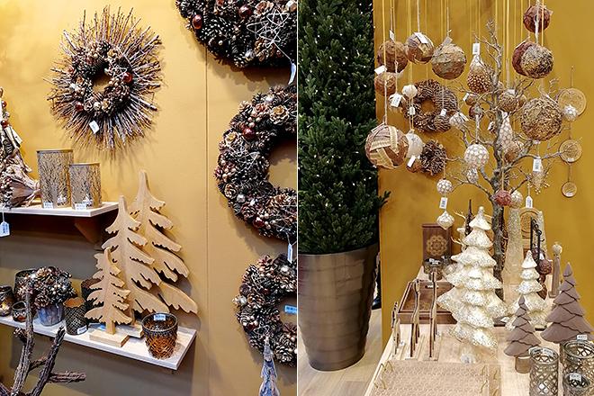 Декор из натуральных материалов для нового года