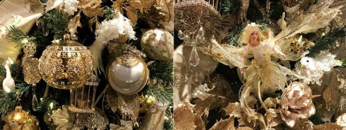 Винтажный декор для новогодней ёлки