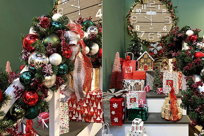 Декор для новогодней ёлки в традиционных тонах