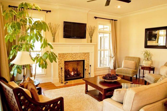 Уютный зал для приятного времяпровождения