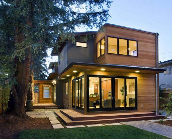 Дом в стиле бунгало