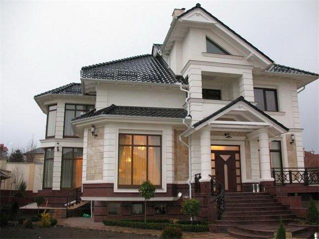Шатровая комбинированная крыша