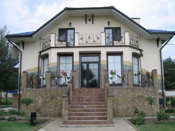 Внешний дизайн частного дома