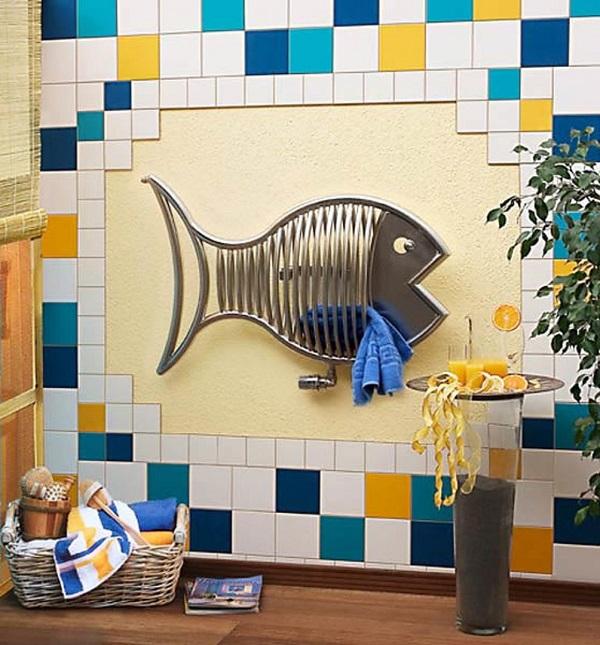 Полотенцесушитель-рыбка