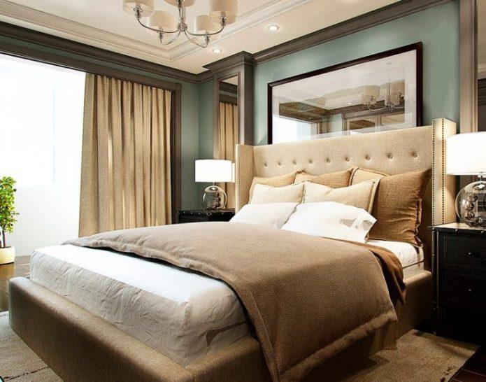Спальня в стиле американская классика