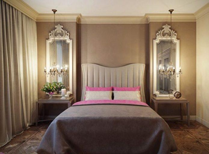 Маленькая классическая спальня