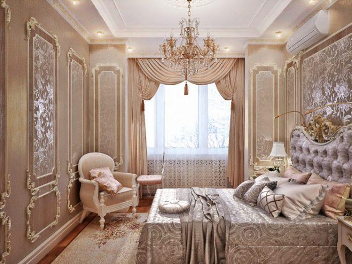 Кресло для спальни в классическом стиле