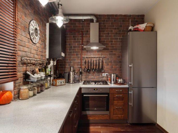 Дизайн кухни в стиле лофт: сочетания с другими дизайнерскими направлениями