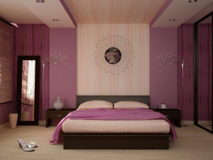 Оригинальные светильники в дизайне спальни