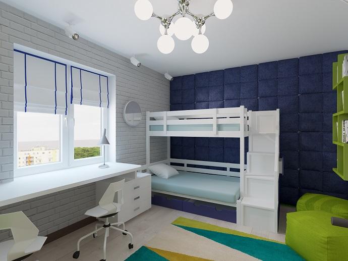 Комната для двух детей